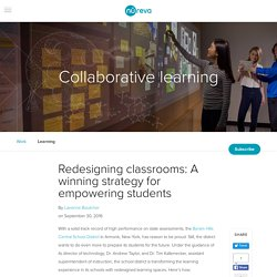 Redesigning classrooms: A winning strategy for empowering students