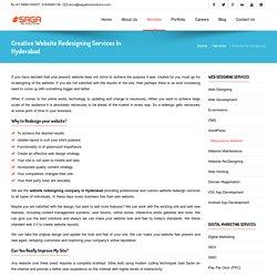 Website Redesigning Services in Hyderabad, Responsive Web Designing, WordPress Website Development
