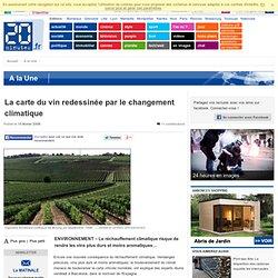 AFP 15/02/08 La carte du vin redessinée par le changement climatique