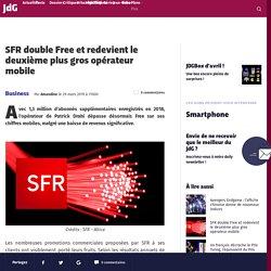 SFR double Free et redevient le deuxième plus gros opérateur mobile