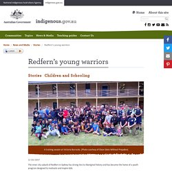 Redfern's young warriors