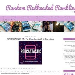 ★[Podcastastic] Random Redheaded Ramblings