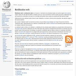 Redifusión web