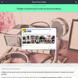 Rédiger une brève pour le web: les bonnes pratiques