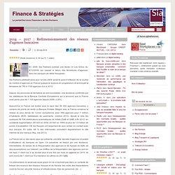 2014 – 2017 : Redimensionnement des réseaux d'agences bancaires