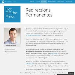 RedirectionsPermanentes