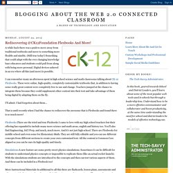 Rediscovering @CK12Foundation Flexbooks And More!