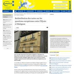 Redistribution des cartes sur les questions européennes entre l'Elysée et Matignon