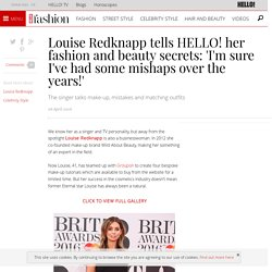 Louise Redknapp shares her fashion and beauty secrets with HELLO! Online.