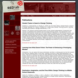 REDlab- Research in Education & Design