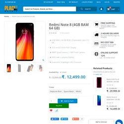 Redmi Note 8 (4GB RAM 64 GB)- Placewell Retail