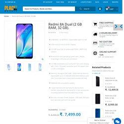 Redmi 8A Dual (2 GB RAM, 32 GB) Online in Silguri & Gangtok