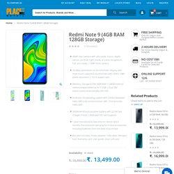Buy Redmi Note 9 (4GB RAM 128GB Storage) - Placewell Retail