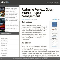 Redmine Review: Open Source Project Management
