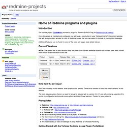 redmine-projects - Project Hosting on Google Code