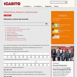 Redondeo y cálculo aproximado Icarito
