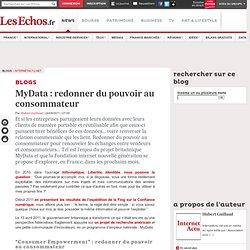 A LIRE ! MyData: redonner du pouvoir au consommateur - Blogs InternetActu.net