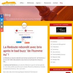 """La Redoute rebondit après le bad buzz """"de l'hommme nu"""" !"""