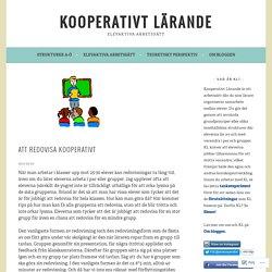 Att redovisa kooperativt – Kooperativt Lärande