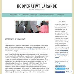 Kooperativ redovisning – Kooperativt Lärande