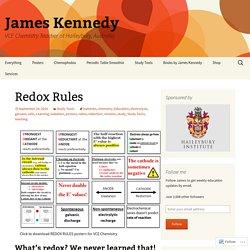 Redox Rules