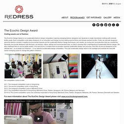 The Ecochic Design Award for Fashion Students
