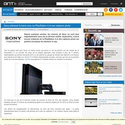 Sony redresse la barre avec sa PlayStation 4 et ses capteurs photo