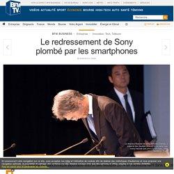 Le redressement de Sony plombé par les smartphones