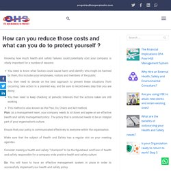 How Can You Reduce Costs & What Can You Do To Protect Yourself?