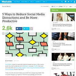 5 Ways to Reduce Social Media Distractions and Be More Productive
