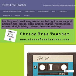 Top 40 ways to reduce stress and relax… – Stress Free Teacher