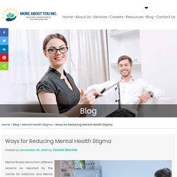 Ways for Reducing Mental Health Stigma