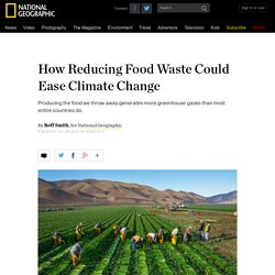 How Reducing Food Waste Could Ease Climate Change