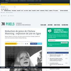 Réduction de peine de Chelsea Manning: explosion de joie en ligne