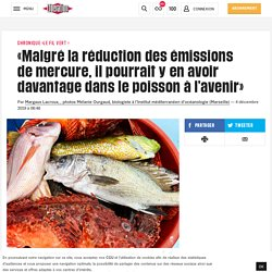 «Malgré la réduction des émissions de mercure, il pourrait y en avoir davantage dans le poisson à l'avenir»