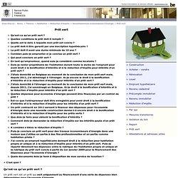 Prêt vert - Investissementséconomiseurs d'énergie - Réduction d'impôts - Habitation - Thèmes