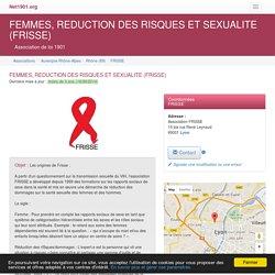 FEMMES, REDUCTION DES RISQUES ET SEXUALITE (FRISSE) - Lyon