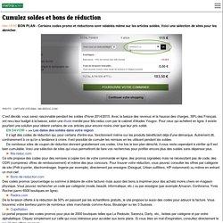 SOLDES 2015 - Codes promo et réductions sur Ma-reduc, iGrall, Radins... pour acheter moins cher