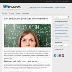 1001 réductions pour faire des économies