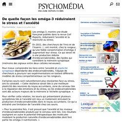 De quelle façon les oméga-3 réduiraient le stress et l'anxiété