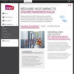 Réduire nos impacts environnementaux
