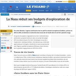 Sciences : La Nasa devrait se retirer du projet européen ExoMars
