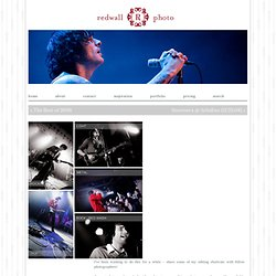 Redwall Photo Photoshop Actions! | Redwall Photo Chicago Music and Concert Photography