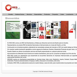 Red Web Industrial Design