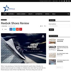 Reebok Shoes Review