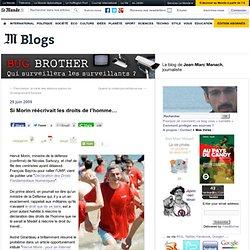 Si Morin réécrivait les droits de l'homme… - BUG BROTHER - Blog