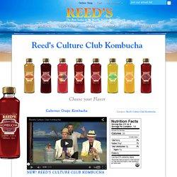Reed's Culture Club Kombucha - Reeds, Inc.