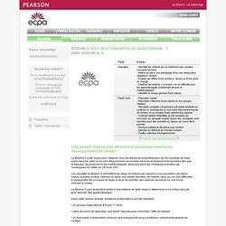 Test BOEHM-3 TEST DES CONCEPTS DE BASE BOEHM - 3 - Rééducation Psychopédagogie