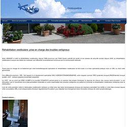 Rééducation vestibulaires (vertiges) - Centre Kineo Amberieu en Bugey