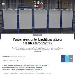 Peut-on réenchanter la politique grâce à des sites participatifs?